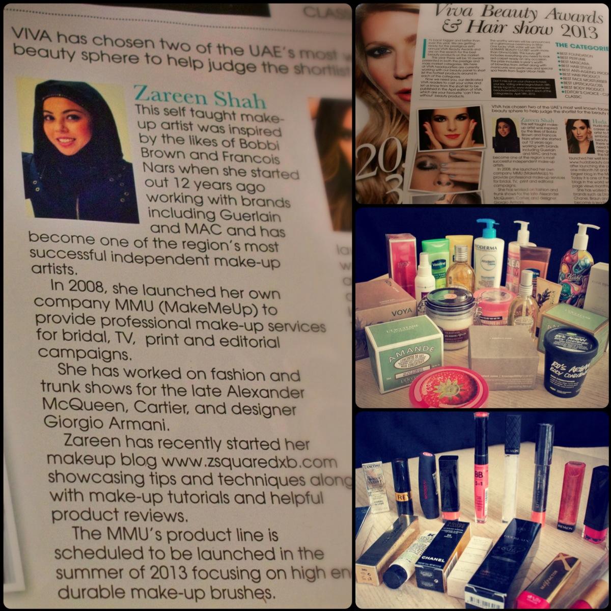 VIVA magazine beauty Awards 2013