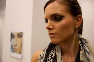 Closer look at Eva's Make-up