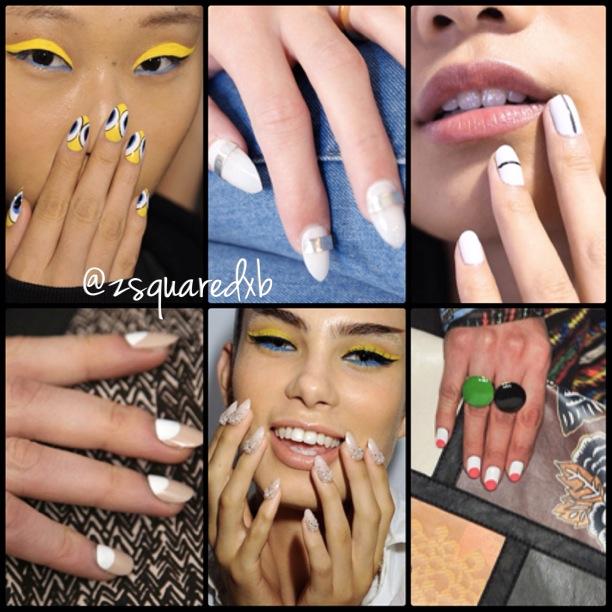 Nail Trends at NYFW Spring2014
