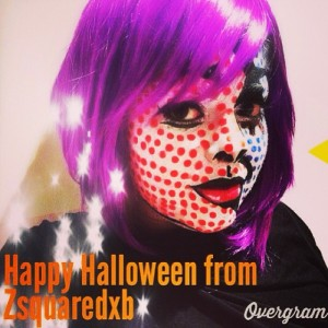 pop art makeup halloween