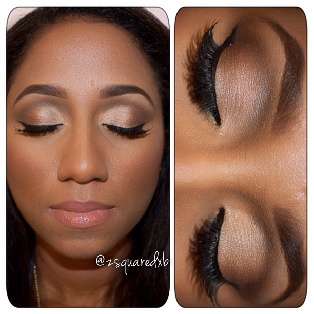 Gallery For > Neutral Eye Makeup For Black Women