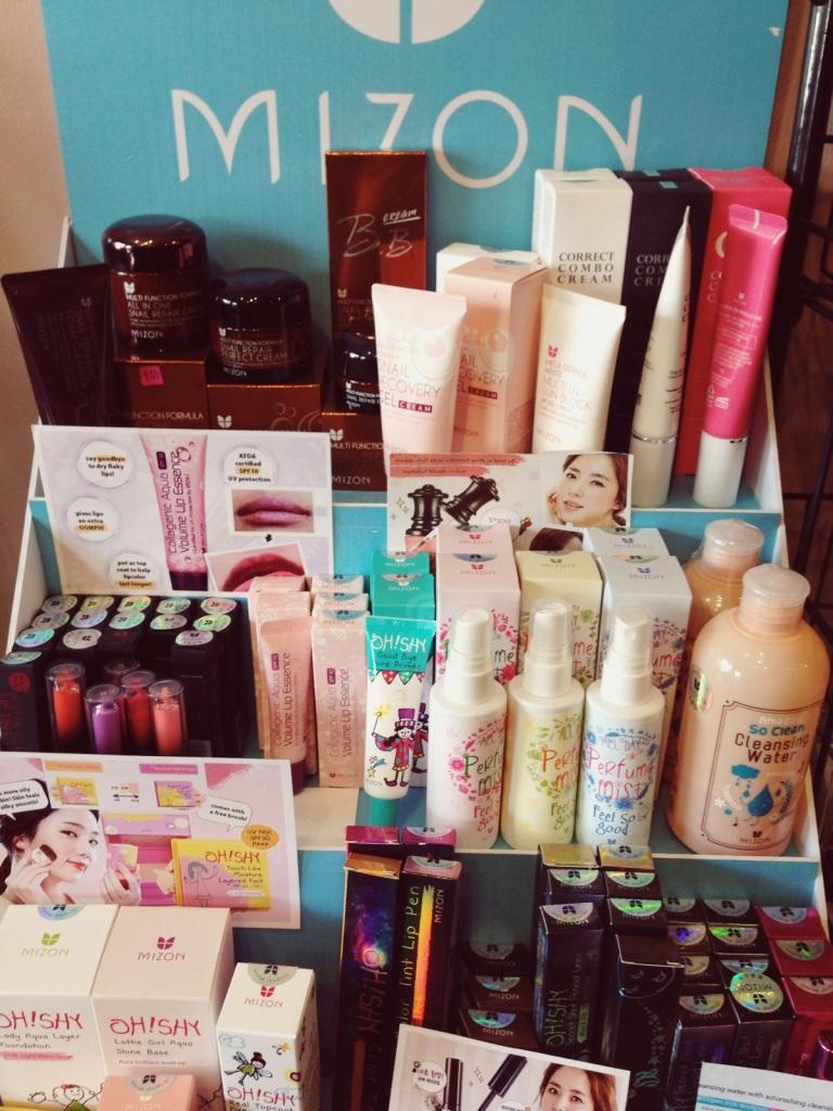 Korean Cosmetics called MIZON