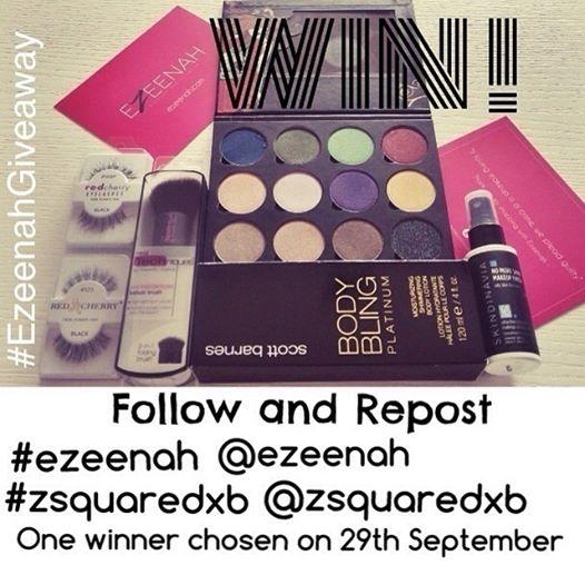 Ezeenah Instagram GiveAway