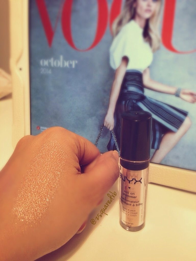 NYX cosmetics Roll On Shimmer RES15 Nude