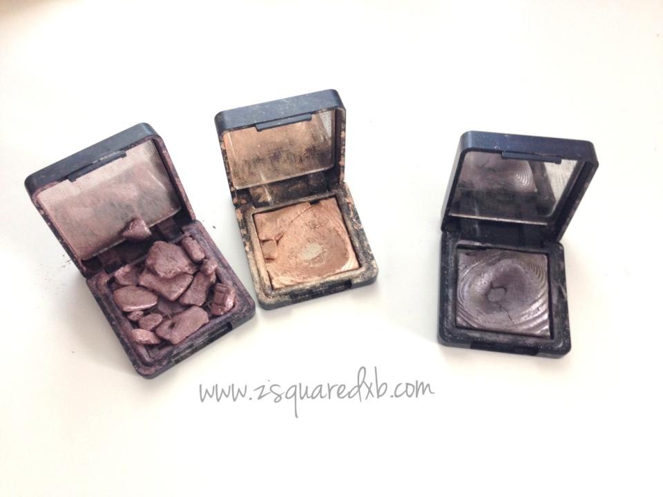 Kiko Wet & dry eyeshadows breaking
