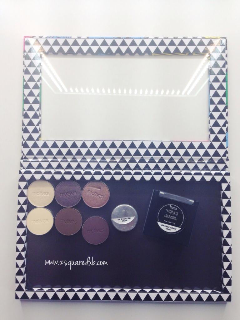 Depotting - Motives Eyeshadows