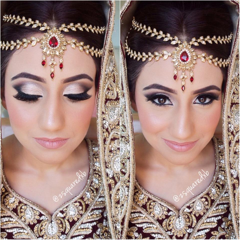 Pakistani Bridal Glam